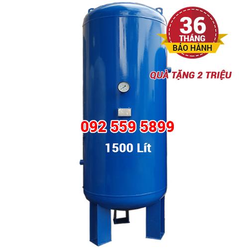 Bình chứa khí nén Pegasus 1500 lít (1.5m3)