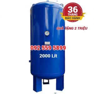 Bình chứa khí nén Pegasus 2000 lít (2m3)