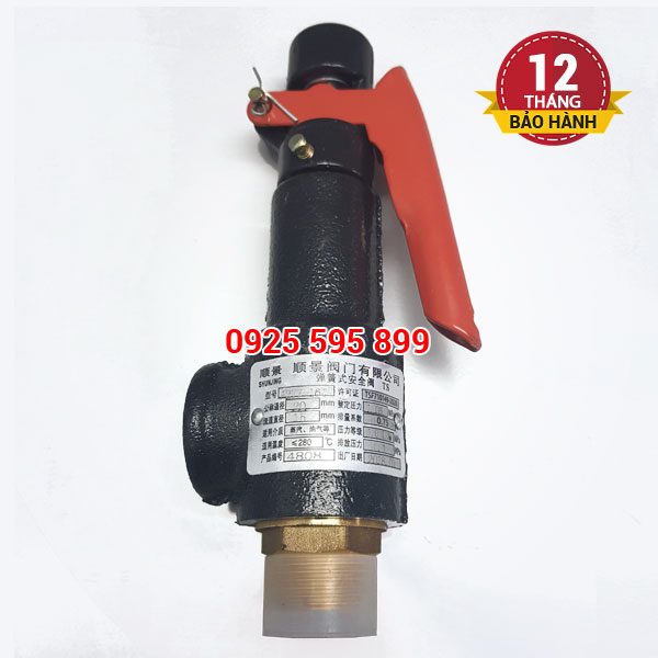 Van an toàn có gạt A27W-16T-DN20 (phi 27mm)